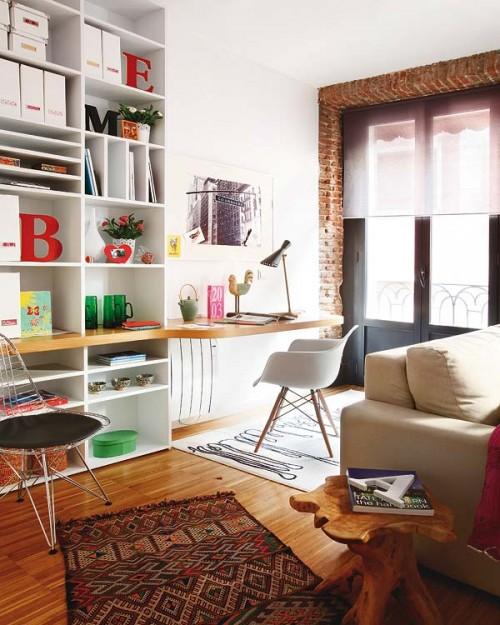Un amestec de stiluri, ce aminteste inclusiv de interioarele scandinave - Un amestec de stiluri, ce aminteste inclusiv de interioarele scandinave