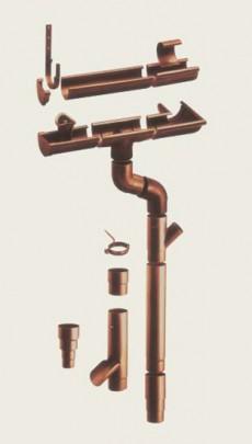 Sistem de jgheaburi si burlane STABICOR P - BRAMAC - Sisteme de jgheaburi si burlane