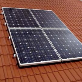 Sistemul cu montaj pe acoperis - Sisteme fotovoltaice