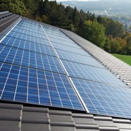 Sistemul InDaX incastrat in acoperis - Sisteme fotovoltaice