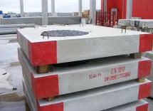 Elemente de acoperire patrate - Elemente prefabricate pentru camine
