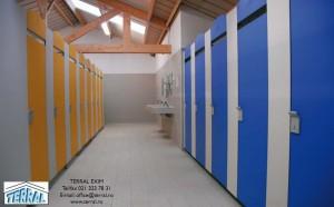 Cabinele Fakir - Compartimentari sanitare