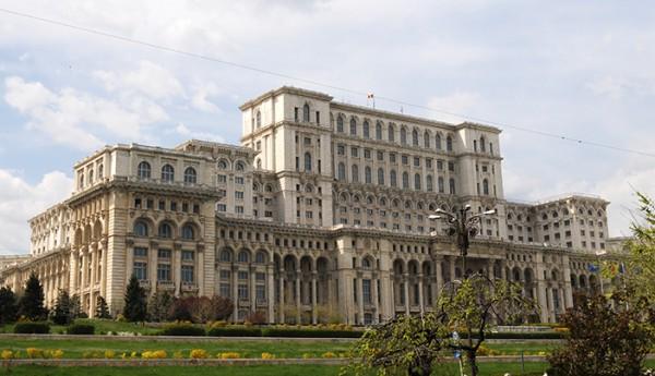 Palatul Parlamentului, foto Alina Miron - Cea mai mare, scumpa si grea cladire din lume
