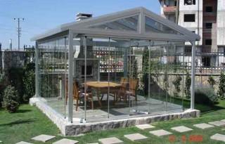 Antiochia - Sistem de pliere panouri din sticla - Sisteme de inchidere terase