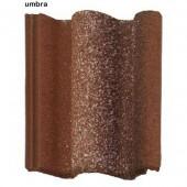 Tigla profilata din beton umbra - Tigla din beton - Adria