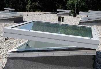 Trape de sticla - JET-ISO - Cupolete pentru iluminare si ventilare - JET