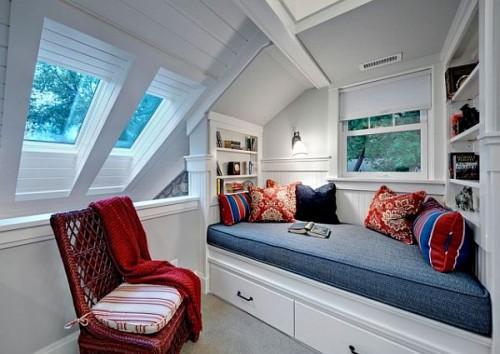 Amenajare Kathryn Johnson Interiors, foto Mark Ehlen - Paturi, nise si colturi de lectura