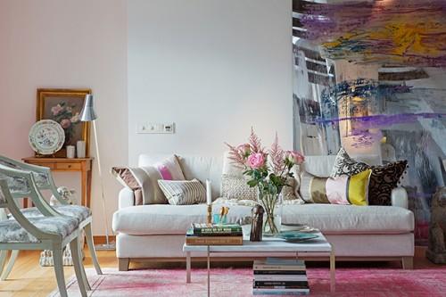 O casa colorata si boema in Stockholm - O locuinta colorata si boema, in Stockholm