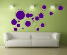 Sticker Alte cercuri - Stickere decorative