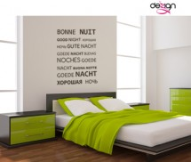Sticker Bonne Nuit - Stickere decorative