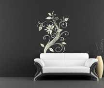 Sticker decorativ - Floare complexa - Stickere decorative