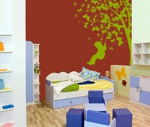 Sticker Gradina cu fluturi - Stickere decorative