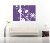 Sticker Panouri Florale - Stickere decorative