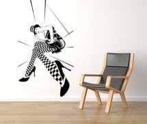 Sticker Poker Face - Stickere decorative