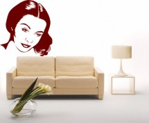 Sticker Vivian Leigh - Stickere decorative