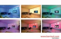 Barrisol Wall - Proiecte realizate cu Barrisol Wall