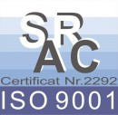 Certificat ISO 9001-2010  - Certificari Sudometal