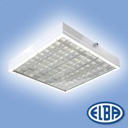 Corp de iluminat protejat la umezeala si praf 5 FIRAD-04 Apla - Corpuri de iluminat industriale cu protectie la umezeala si praf - ELBA