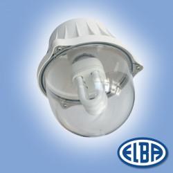 Corp de iluminat protejat la umezeala si praf - Bolo - EI 04 - Corpuri de iluminat industriale cu protectie la umezeala si praf - ELBA
