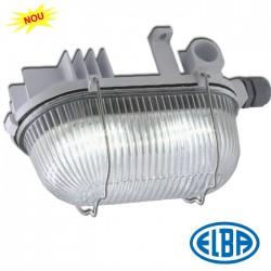 Corp de iluminat protejat la umezeala si praf - PO 01 LED - Corpuri de iluminat industriale cu protectie la umezeala si praf - ELBA