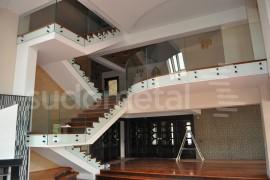 Balustrada casa particulara Bacau - Balustrade din sticla