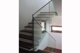 Balustrada casa particulara Bucuresti - Balustrade din sticla