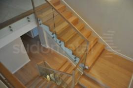 Balustrada casa particulara Otopeni - Balustrade din sticla