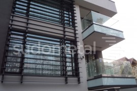 Balustrada din sticla - inox casa particulara Galati - Balustrade exterioare