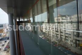 Balustrada din sticla - inox cladire de birouri 30 Avenue - Balustrade exterioare