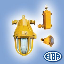 Corp antiexploziv pentru iluminat - AV 02 B - Corpuri de iluminat antiexplozive - ELBA