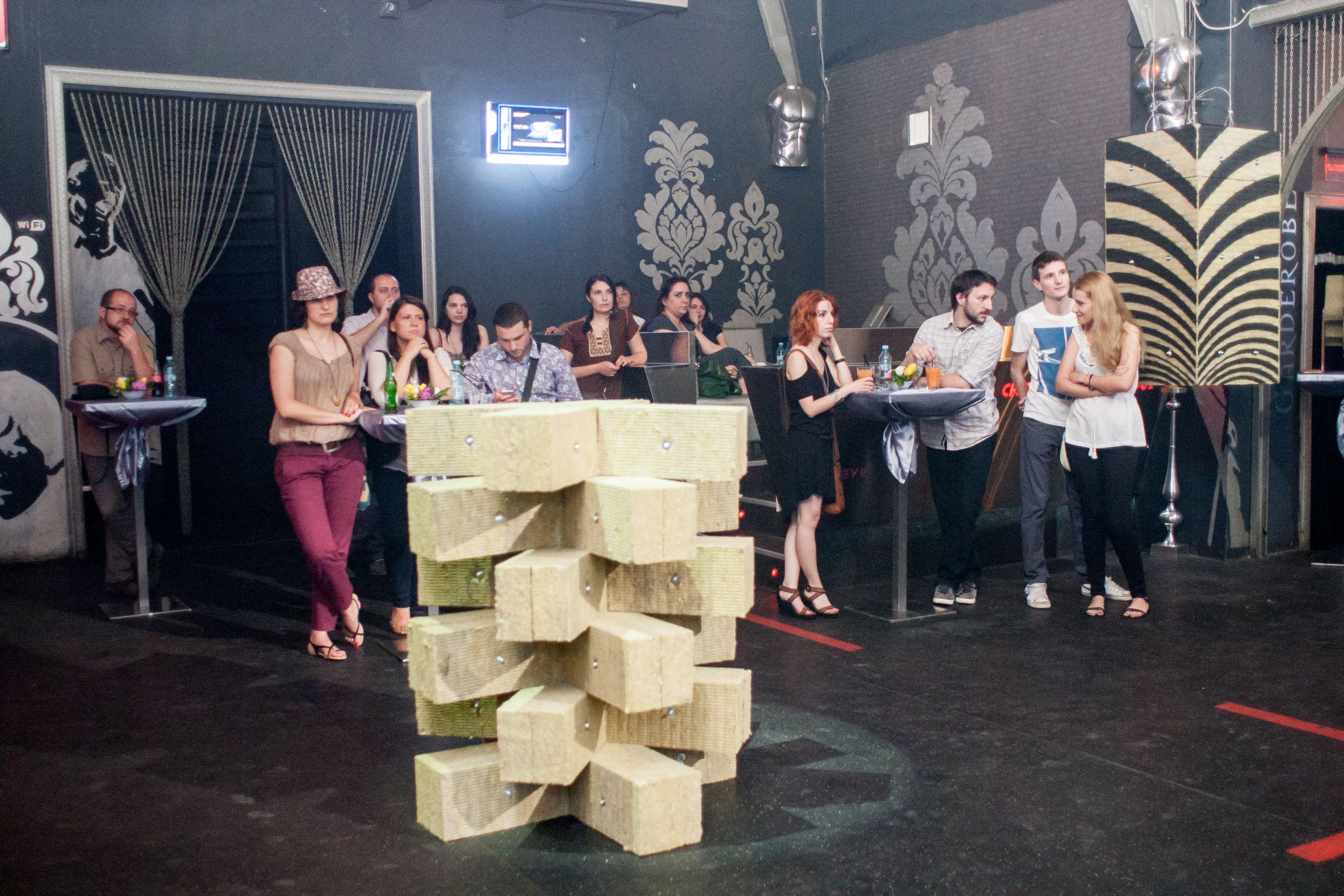 Public+Decor vata minerala - Knauf Insulation - Eveniment Arta Minerala
