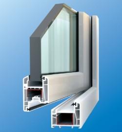 Profile cu 4 camere  - Profile PVC pentru ferestre si usi