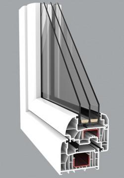 Profile cu 7 camere - Profile PVC pentru ferestre si usi