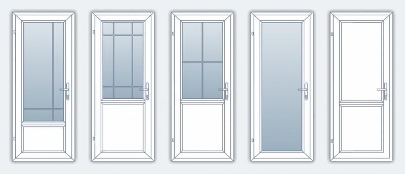 Usi de interior - Profile PVC pentru usi