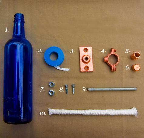 Materiale necesare - Un proiect care ocupa doar o ora, intr-o seara