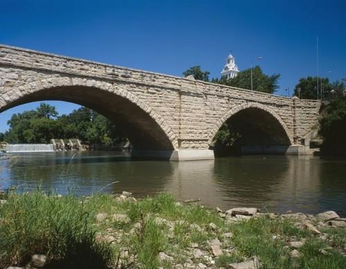 Foto National Park Service SUA, via Wikipedia Commons - Chei de bolta pentru un pod, inventii vechi de peste doua mii de ani