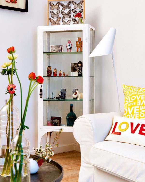 Un apartament colorat in Madrid - Culori luminoase, pentru un aspect ludic si boem