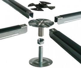 Structura secundara metalica de fixare - Componente pardoseli supra-inaltate