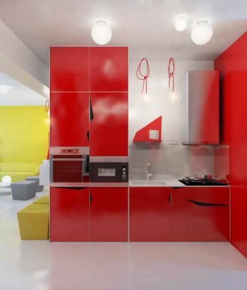 Anna Marinenko concept, via home-designingcom - Bucatarii ideale, pentru cele mai variate gusturi si stiluri