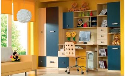 Sistem pentru camere de tineret TWIST - Mobilier living