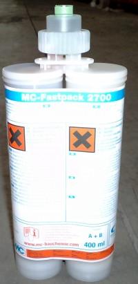 MC-Fastpack 2700 - Injectii pentru consolidare
