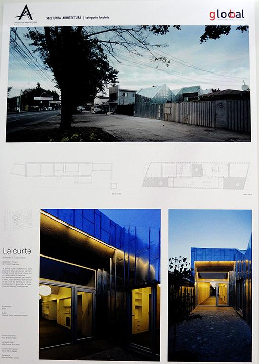 La curte, categoria Locuinte - Proiect castigator la sectiunea Arhitectura, categoria Locuinte