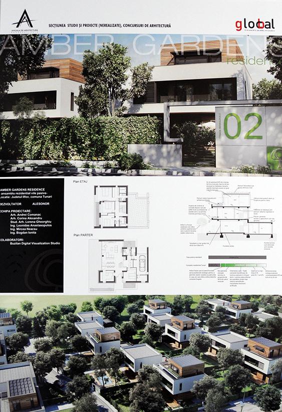 Sectiunea Studii si proiecte nerealizate - Studii si proiecte nerealizate, Amber Gardens