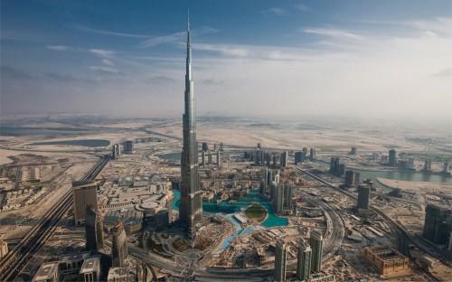 Burj Khalifa, cea mai inalta structura construita din lume, foto via deskarati.com - Burj Khalifa, cea mai inalta structura construita din lume