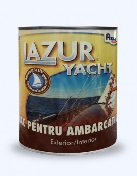 Lac pentru ambarcatiuni - Exterior-Interior - Yacht - Lazuri si baituri pentru lemn, piatra sau ambarcatiuni - AZUR