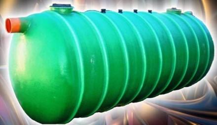 Rezervor orizontal ingropat - Rezervoare subterane din fibra de sticla