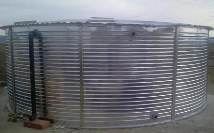 Rezervor metalic - Rezervoare metalice supraterane