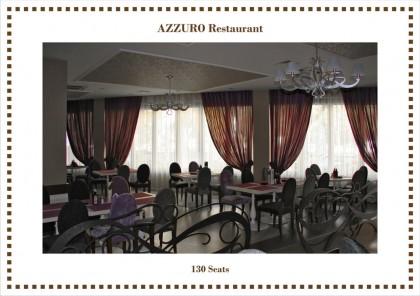Restaurant Azzurro  - Lucrari realizate: