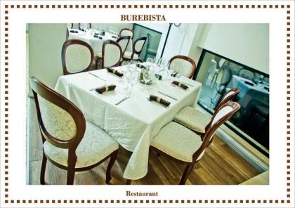 Restaurant Burebista - Lucrari realizate: