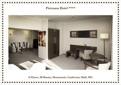 Hotel Pietroasa - Lucrari realizate: